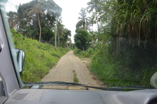 Hovedveien på Foa