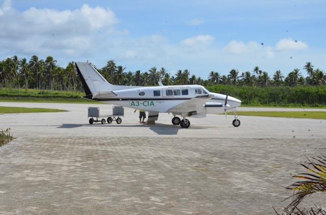 Flyet, en Beech 65