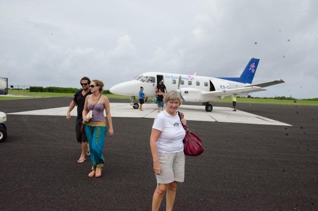 Ankomst Aitutaki