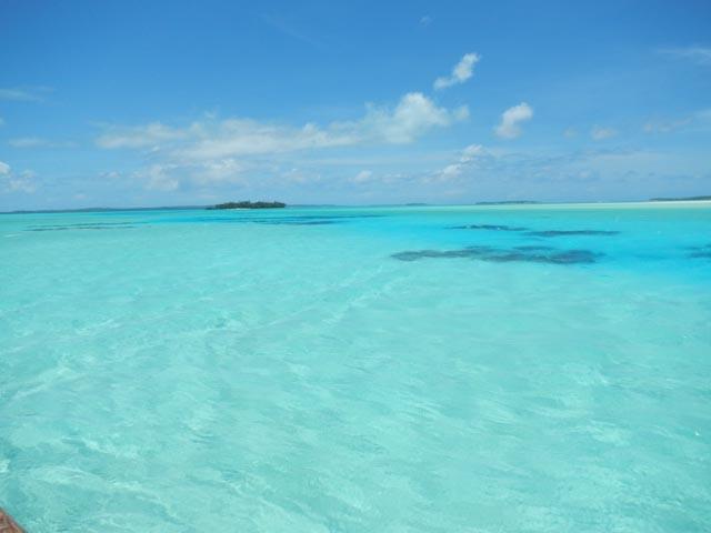 Aitutaki´s lagune