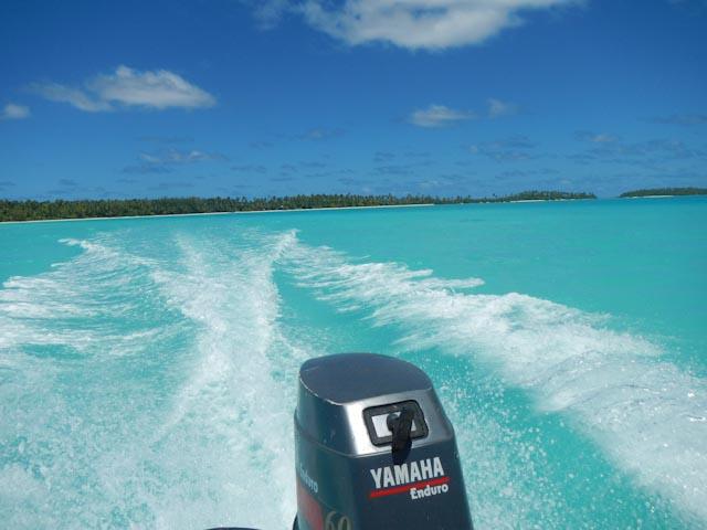 Farvel til Akaiami Island