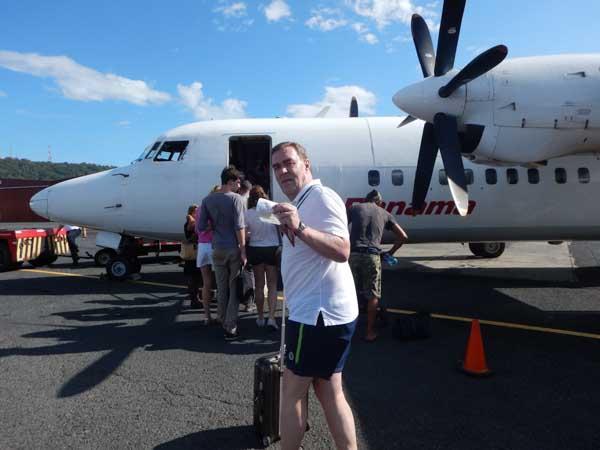 På vei til Bocas Del Toro